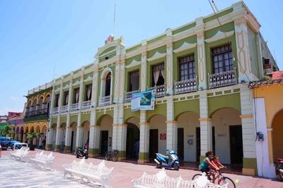 Palacio municipal de Tlacotalpan, México