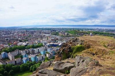 Vista de Edimburgo desde Arthur's seat