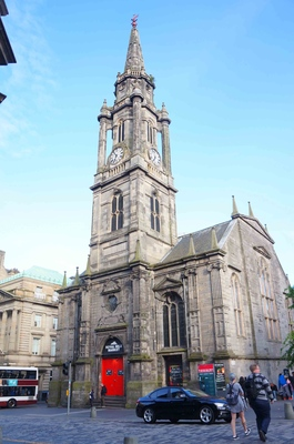 Iglesia en la Ciudad vieja de Edimburgo
