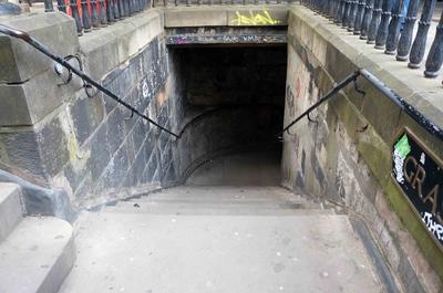 Túneles de la Ciudad vieja de Edimburgo