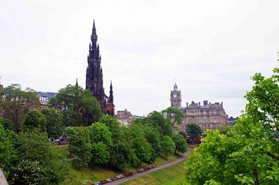 Jardines de Edimburgo