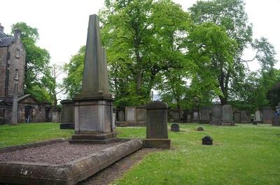 Jardines de Greyfriars en Edimburgo