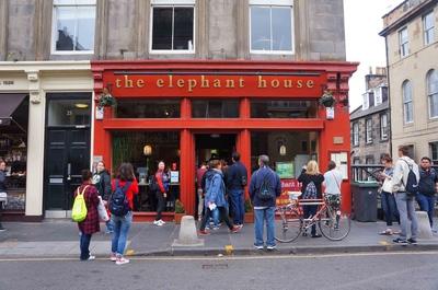 The elephant house en Edimburgo
