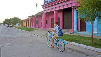 Calles de Tlacotalpan, México