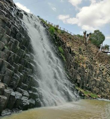 Prismas basálticos en Huasca de Ocampo, México