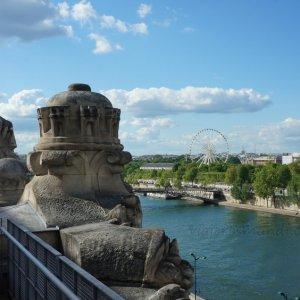 Vista de la Concordia desde el Museo de Orsay, París