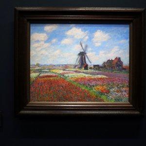 Campos de tulipanes de Claude Monet, Museo de Orsay, París