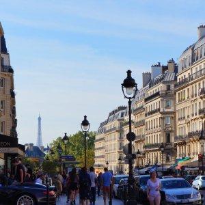 Vista desde el Panteón de París
