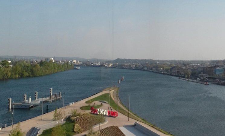 Vista de Confluences, Lyon