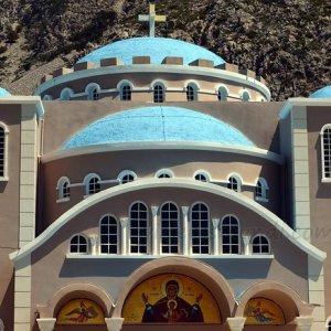 Monasterio en Creta