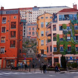 """Mural de """"canuts"""", Lyon"""