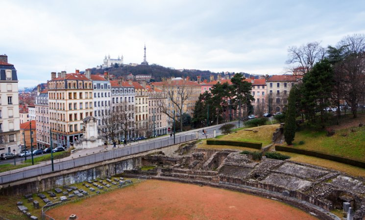 Anfiteatro romano, Lyon