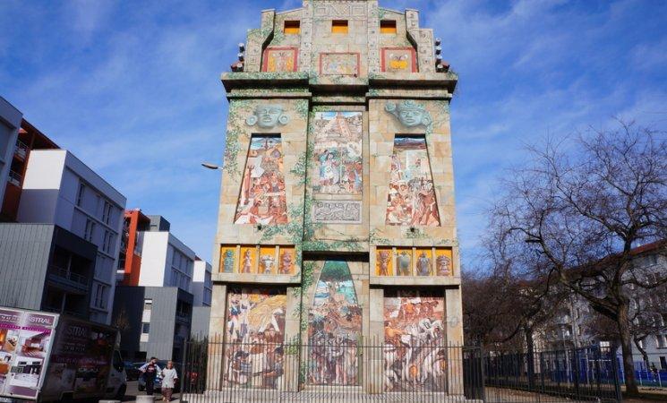 Mural a México en Lyon