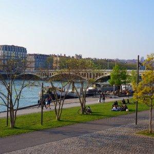 Malecón del Ródano, Lyon