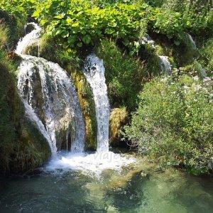 Cascada en Plitvice