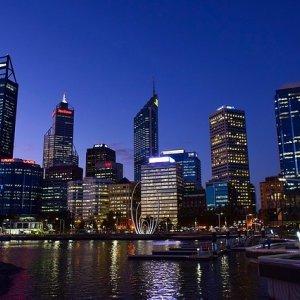 Perth de noche