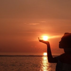 El sol, Bali