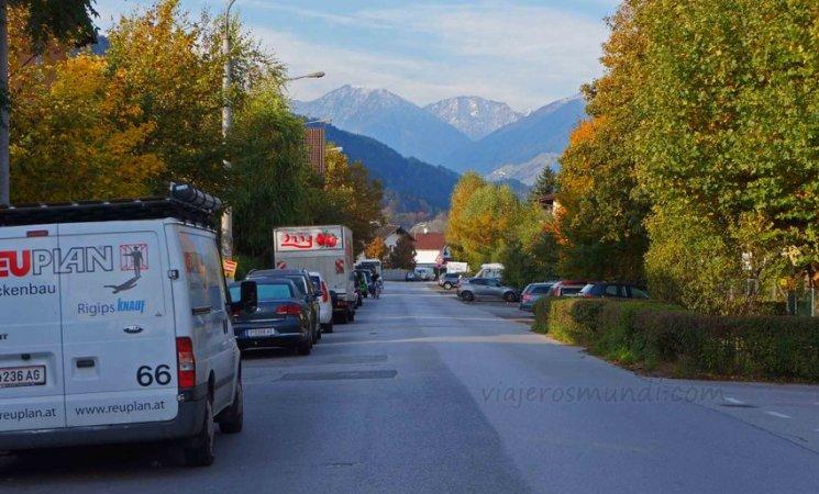 Calles de Innsbruck, Austria