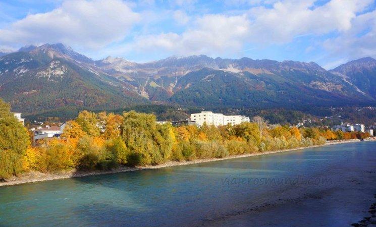 Los Alpes y el río Eno, Innsbruck
