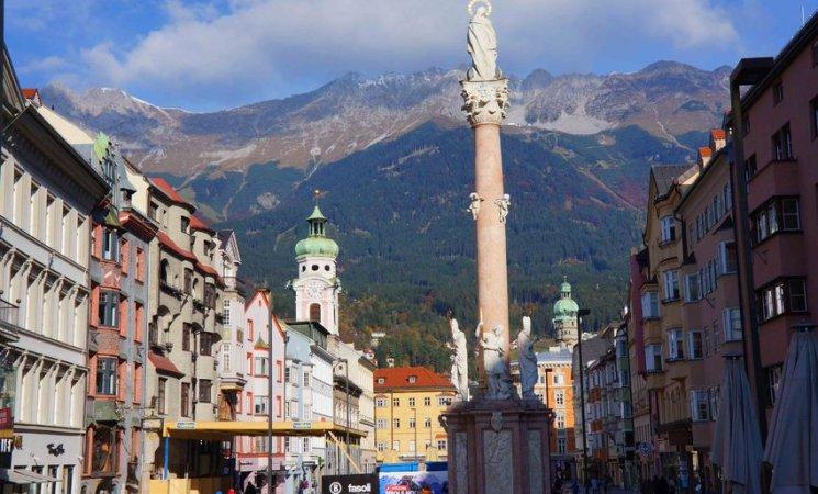 Columna de Santa Ana, Innsbruck