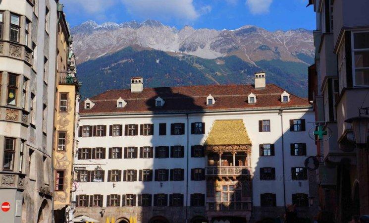 Tejadillo dorado, Innsbruck, Austria