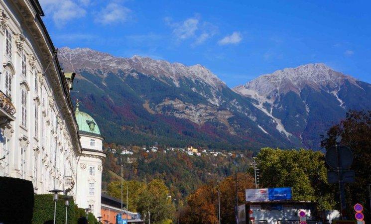 Paisajes de Innsbruck, Austria
