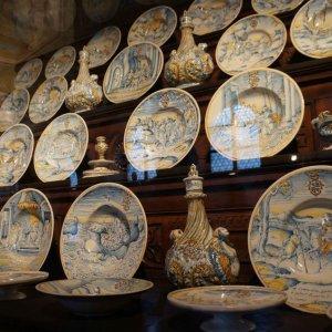 Vajilla antigua en el Palacio Real de Múnich