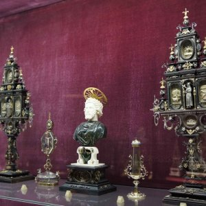 Reliquias en el Palacio Real de Múnich