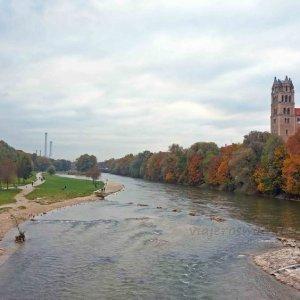 Río Isar, en Múnich