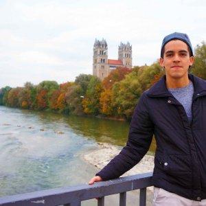 Río Isar en Múnich