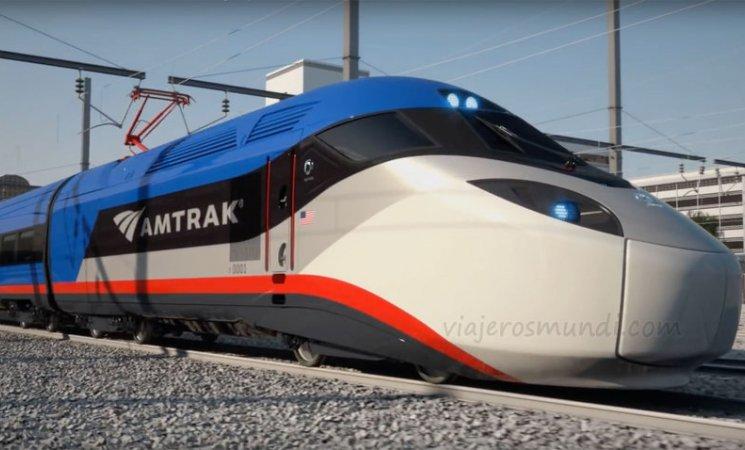 Amtrak, la principal línea de trenes de Estados Unidos