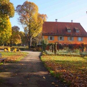 Parque Burggarten en Rothenburg