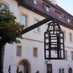 Antiguos instrumentos de tortura en Rothenburg