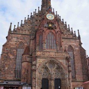 Iglesia Frauenkirche, en Núremberg