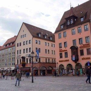Hauptmarkt, plaza central de Núremberg