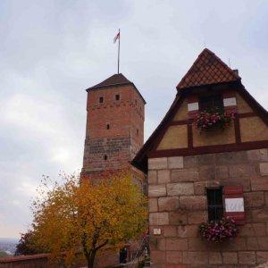 Torre del pecado, en el castillo imperial de Núremberg