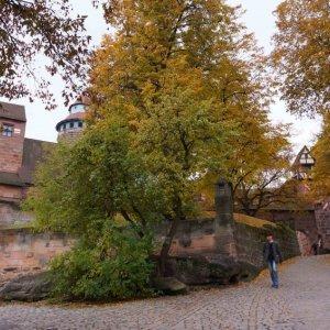 Entrada al castillo de Núremberg