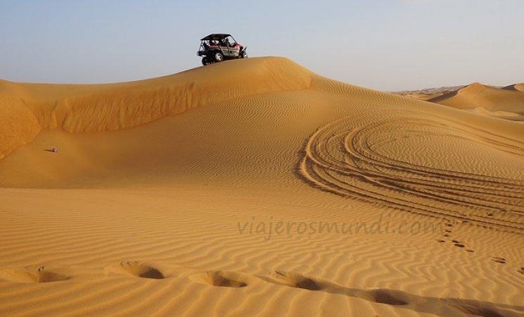 Recorrido en el Desierto