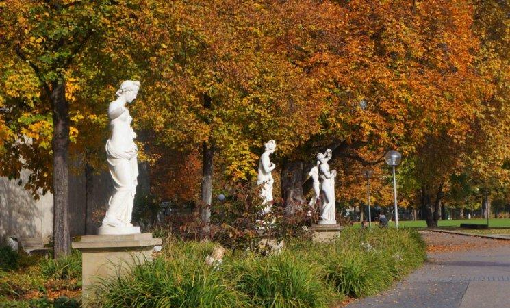 Antiguos jardines reales de Stuttgart