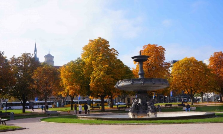 Schlossplatz de Stuttgart