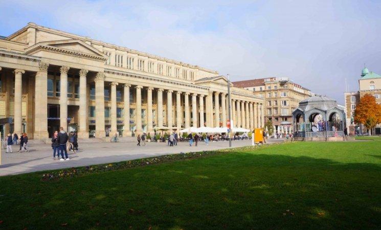 Plaza central de Stuttgart