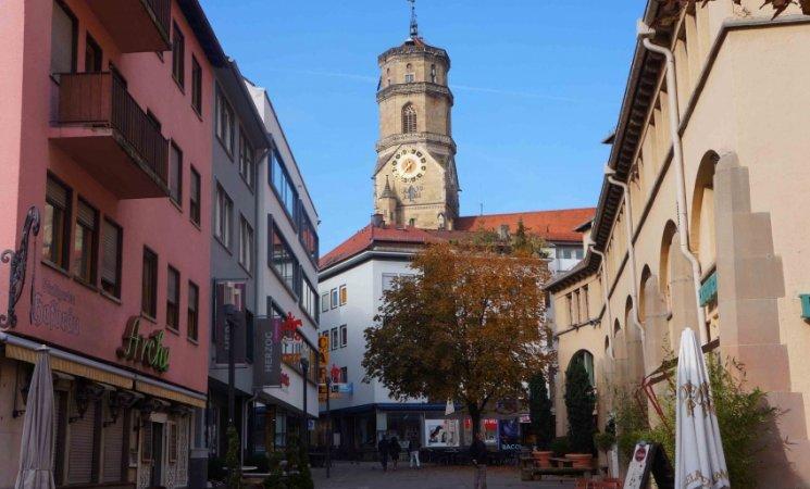 Centro histórico de Stuttgart