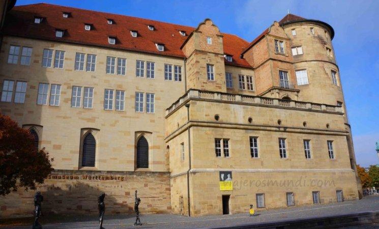 Castillo antiguo de Stuttgart