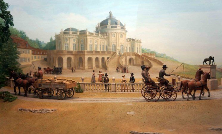 Maqueta del Museo Mercedes-Benz, Stuttgart
