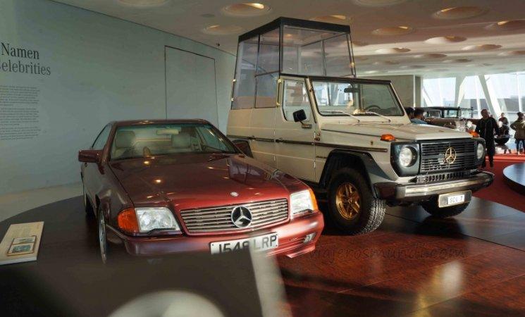 Papamóvil, Museo Mercedes-Benz, Stuttgart