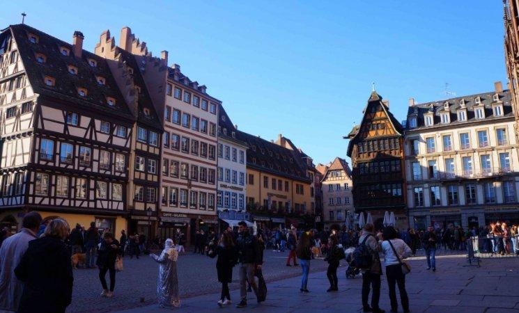 Place du Château, Estrasburgo