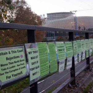 Protestas en Parlamento Europeo, Estrasburgo