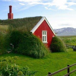 Casas típicas de Islandia