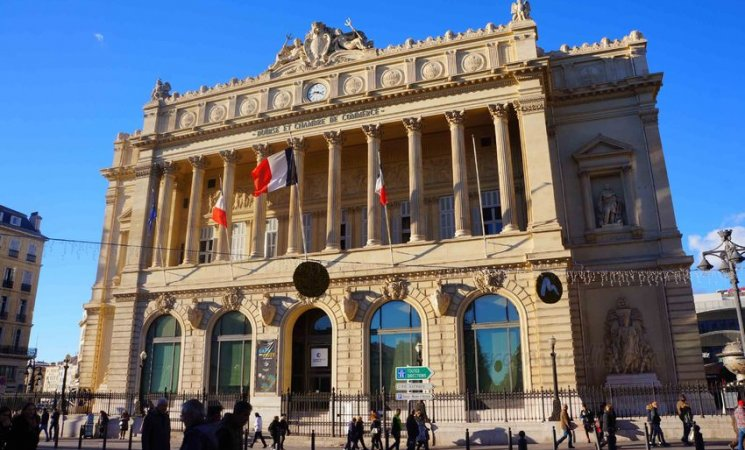 Cámara de comercio, en Marsella