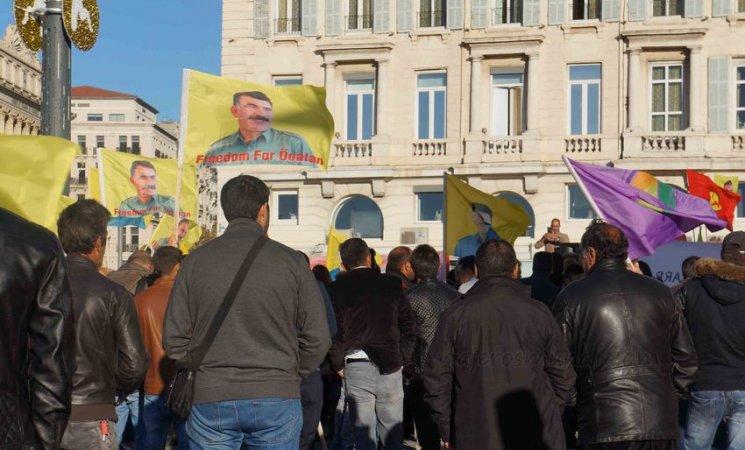 Manifestación turca en Marsella